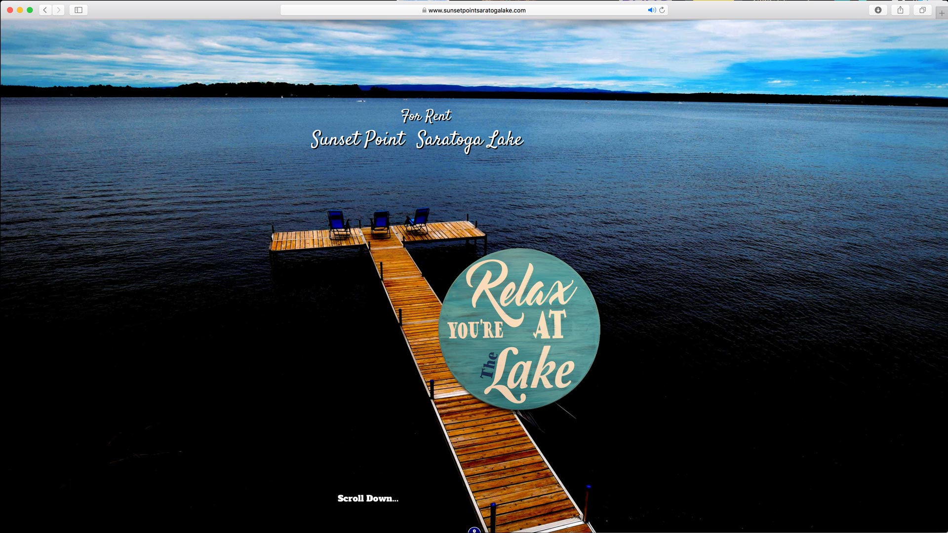 Sunset Point Saratoga Lake :: Microsite Design, Aerial and Traditional Photography